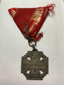 Franc Jozef - vyznamenanie, značený : WaA