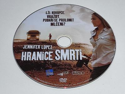 HRANICE SMRTI : JENNIFER LOPEZ / DVD NEŠKRÁBLÉ - BEZ OBALU