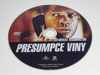 PRESUMCE VINY : D. WASHINGTON / DVD NEŠKRÁBLÉ - BEZ OBALU