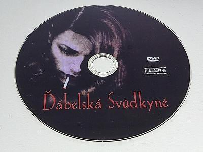 ĎÁBELSKÁ SVŮDKYNĚ  / DVD NEŠKRÁBLÉ - BEZ OBALU