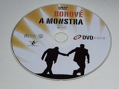 BOHOVÉ A MONSTRA / DVD NEŠKRÁBLÉ - BEZ OBALU
