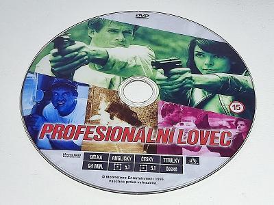 PROFESIONÁLNÍ LOVEC / DVD NEŠKRÁBLÉ - BEZ OBALU