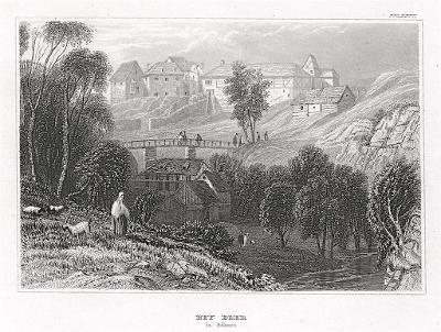 Ostroh Seeberg, Meyer, oceloryt, 1850