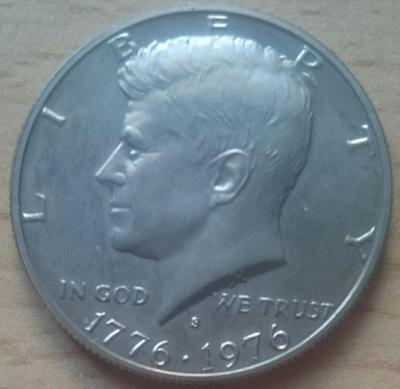 USA 1/2 Dolar 1976 S