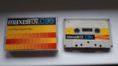MAXELL C90 - stará kazeta