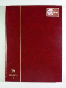 4218 Sbírka známek SVĚT PTÁCI + luxusní zásobník A4