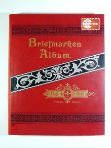 4229 Sbírka známek SVĚT 120 let staré album