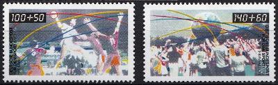 Německo / BRD 1990 Mi.1449-1450 MNH**