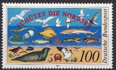 Německo / BRD 1990 Mi.1454 MNH**