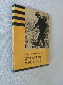 KOD 25 - F.B.Harte , Ztraceni v pustině , brož.1958