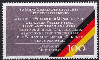Německo / BRD 1990 Mi.1470 MNH**