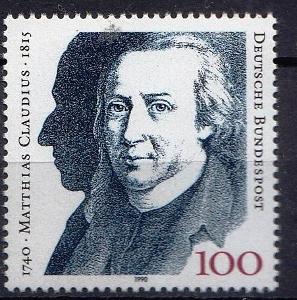Německo / BRD 1990 Mi.1473 MNH**