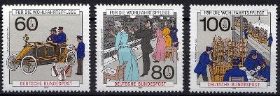 Německo / BRD 1990 Mi.1474-1476 MNH**