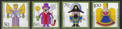 Německo / BRD 1990 Mi.1484-1487 MNH**