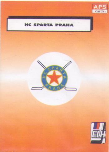 APS 94/95 HC Sparta Praha logo klubu