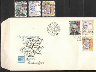 V9507   - FDC obálka prvního dne vydání + známky navíc