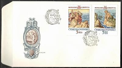 V9515   - FDC obálka prvního dne vydání + známky navíc