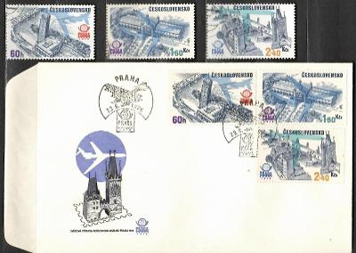 V9517   - FDC obálka prvního dne vydání + známky navíc