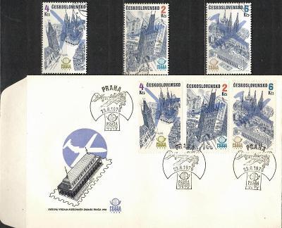 V9518   - FDC obálka prvního dne vydání + známky navíc