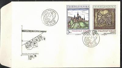 V9524   - FDC obálka prvního dne vydání + známky navíc