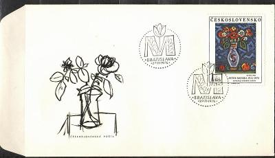 V9527   - FDC obálka prvního dne vydání + známky navíc