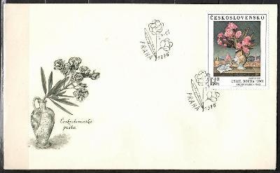 V9528   - FDC obálka prvního dne vydání + známky navíc