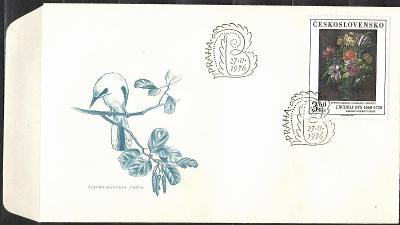 V9529   - FDC obálka prvního dne vydání + známky navíc