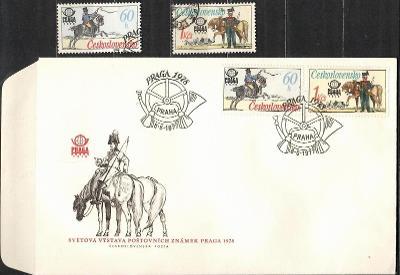 V9536   - FDC obálka prvního dne vydání + známky navíc