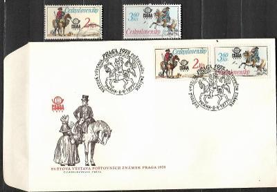 V9537   - FDC obálka prvního dne vydání + známky navíc