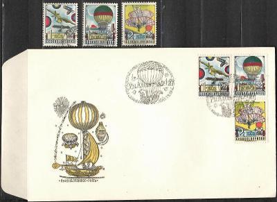 V9543   - FDC obálka prvního dne vydání + známky navíc
