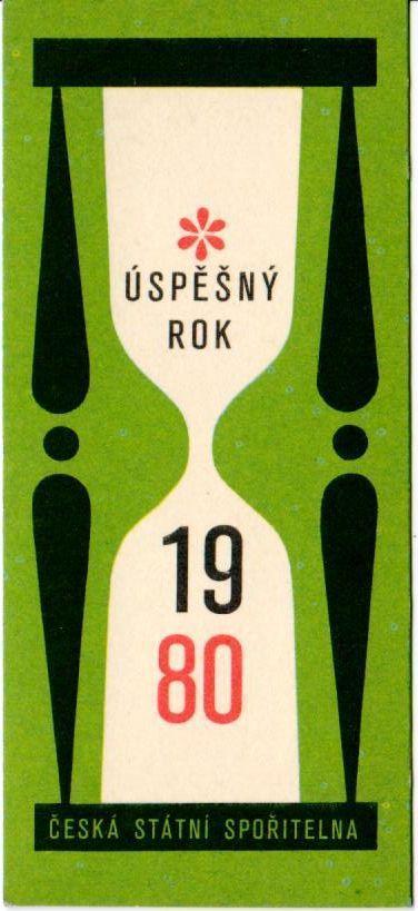 KALENDÁRIK - 1980