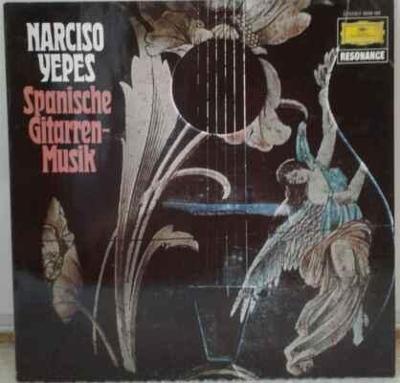 LP Narciso Yepes - Spanische Gitarren-Musik, 1976 EX