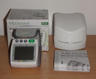Tlakoměr na měření krevného tlaku na zápěstí   MEDISANA BW A30