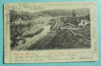 17. Bílovice nad Svitavou - Brno - trať - nádraží ?