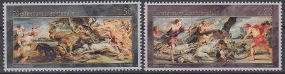 ** Lichtenštejnsko Mi.1992-93 Umění P.P.Rubens