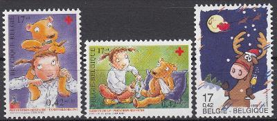 Belgie ** Mi.2903-05 Kreslené postavy