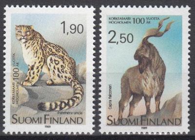 Finsko ** Mi.1087-88 Fauna