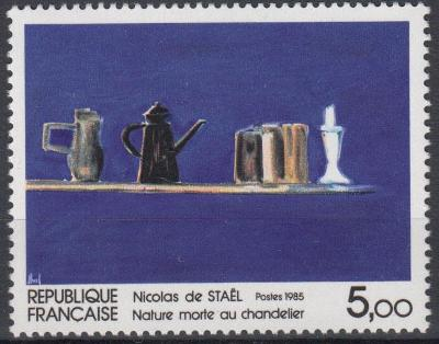 Francie ** Mi.2502 Obrazy, N.de Staël