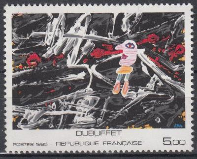 Francie ** Mi.2513 Obrazy, J.Debuffet