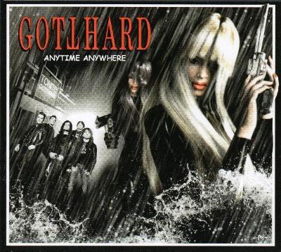 GOTTHARD - Anytime Anywhere - CD 2003  hard rock Švýcarsko