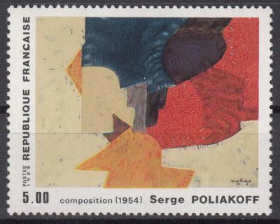 Francie ** Mi.2690 Obrazy, S.Poliakoff