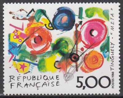 Francie ** Mi.2693 Obrazy, J.Tinguely