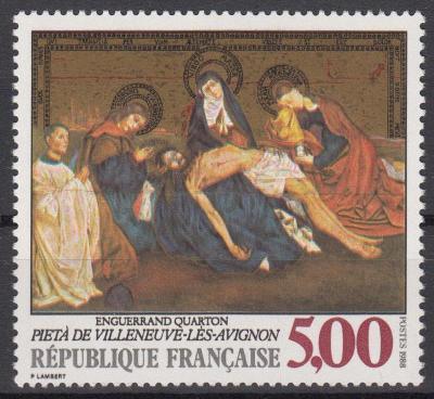 Francie ** Mi.2694 Obrazy, Pieta, E.Quarton