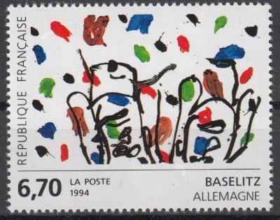 Francie ** Mi.3059 Obrazy, G.Baselitz