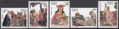 Itálie ** Mi.2684-88 Obrazy svatých