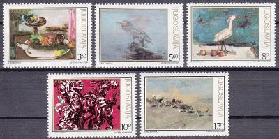 Jugoslávie ** Mi.1911-15 Obrazy