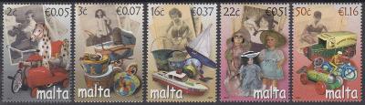 Malta ** Mi.1518-22 Staré hračky