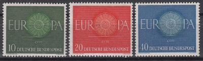 Německo ** Mi.337-339 Europa, CEPT