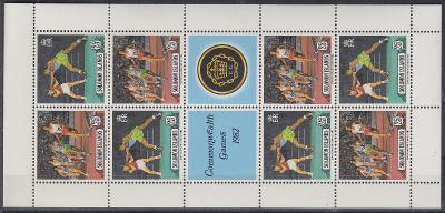 Šalamounovy ostrovy ** Mi.Kl.471-472 Atletika, box