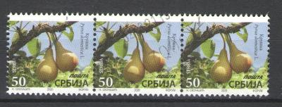 Srbsko 2020 použité v poštovním styku